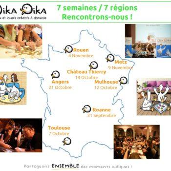 7 semaines / 7 régions : Rencontrons-nous