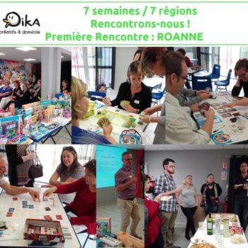 7 semaines / 7 régions – Première rencontre : Roanne