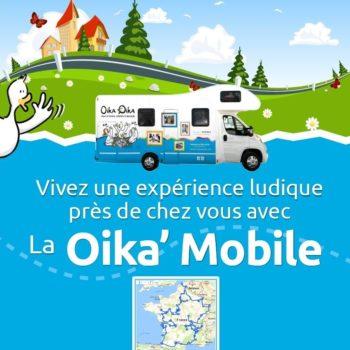 Où croiserez-vous la Oika'Mobile cet été ?