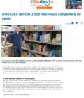 Oika Oika recrute 1000 nouveaux conseillers de vente - article de zoom d'ici