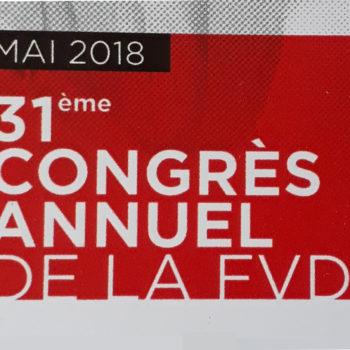 31ème Congrès de la FVD