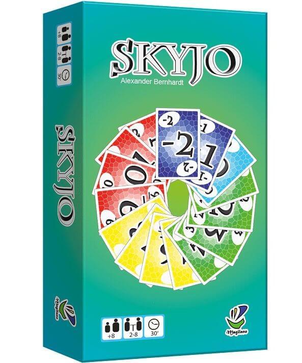 boite du jeu Skyjo